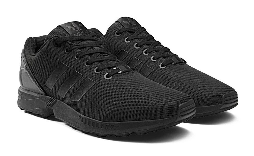adidas nere zx flux