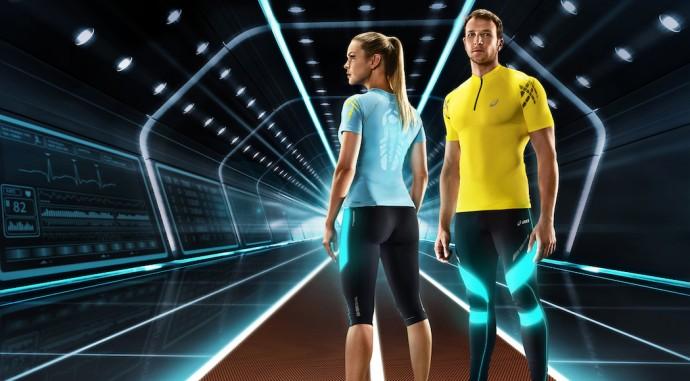 abbigliamento asics running