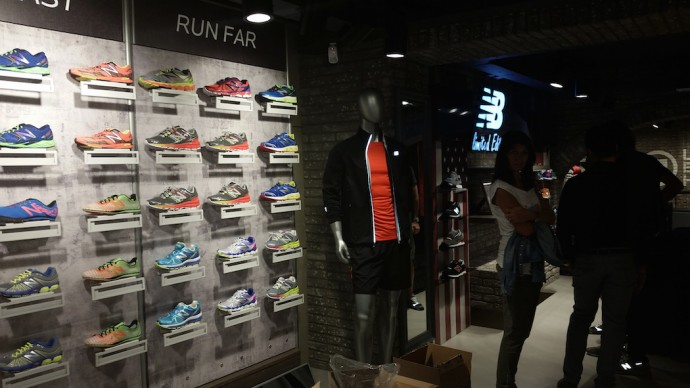 Nuovo flagship store new balance a roma runlovers for Creatore del piano terra del negozio