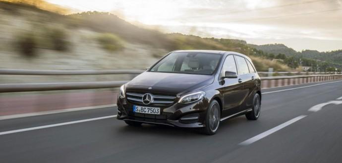 Mercedes Benz Classe B e la vita di tutti i giorni