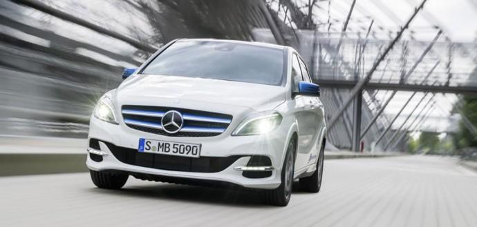 Mercedes Benz Classe B Electric Drive