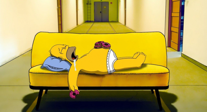 Homer-Simpson-on-a-couch
