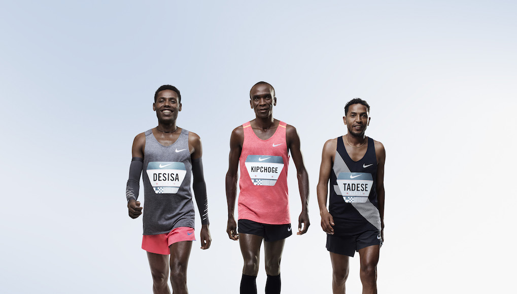 Breaking2  Nike scommette sulla maratona in meno di 2 ore 5dd4b8918fd