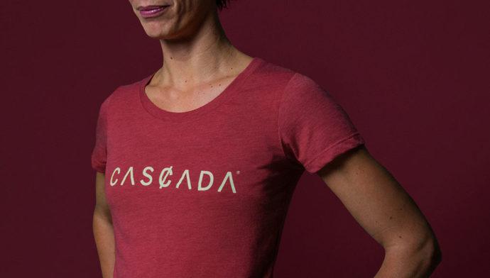 Cascada: t-shirt da donna
