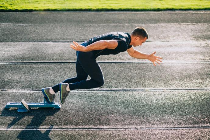Sprint per allenare muscoli corsa