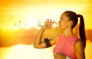 bere mentre corri