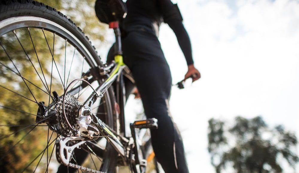 correre e andare in bici