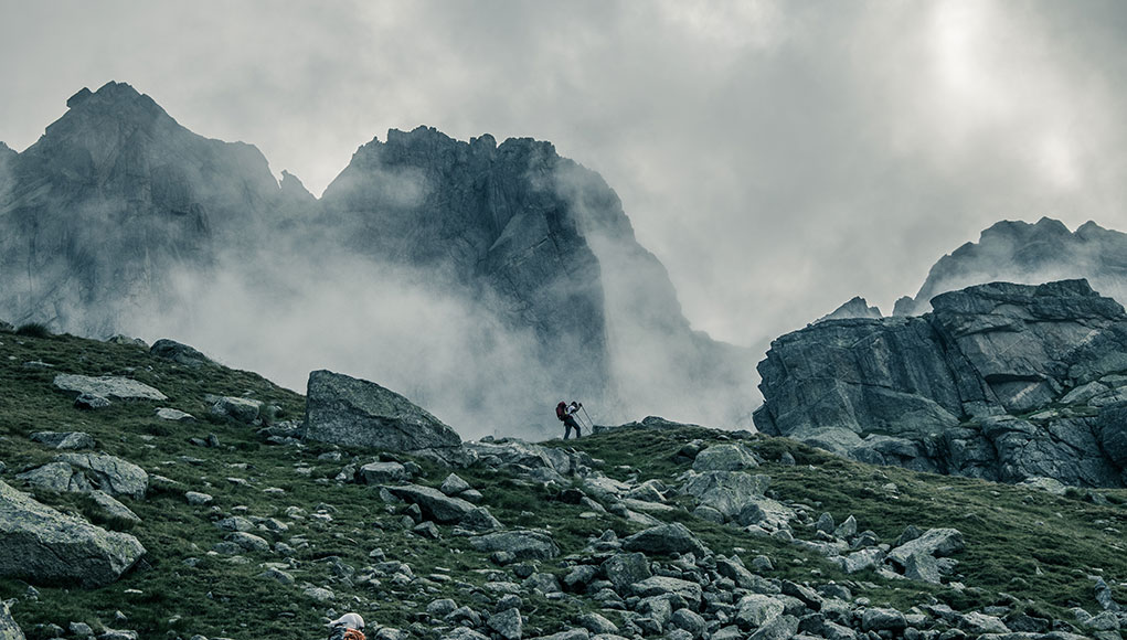 First blood – il trail running in soli tre passi.